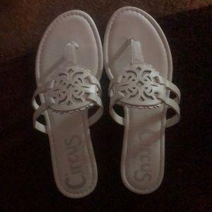 White circus sam Edelman sandals